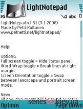 LightNotepad 1.31