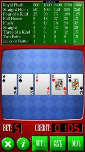 Video Poker Touch 1.0
