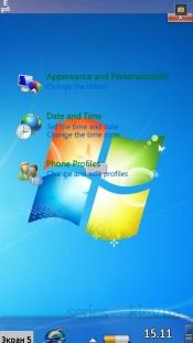 Интерфейс Windows 7