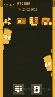 Bart Simpson yellow