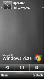 Black Windows Vista