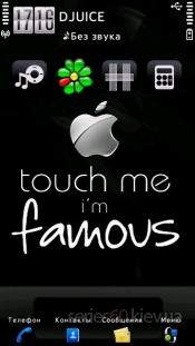 Famous Apple by Daniel