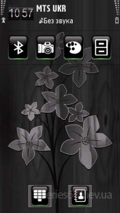 Black Flowers by Sevimlibrad