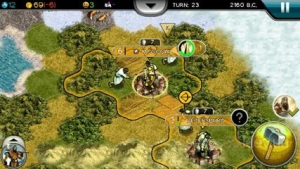 Civilization V TouchScreen