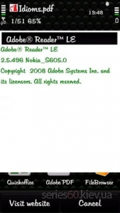 Quickoffice Adobe Reader v2.5.496