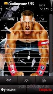 John Cena angry