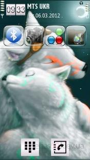 White wolfs by Nadia24