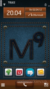 M9 Logo on Jeans by Imsagi