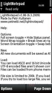 LightNotepad 1.86
