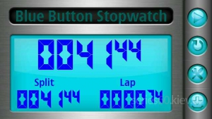 Blue Button Stopwatch 1.1.3