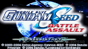 Mobile Suit Gundam Seed: Battle Assault
