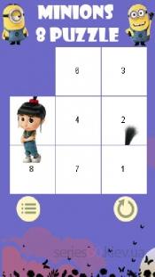 Minions 8 Puzzle